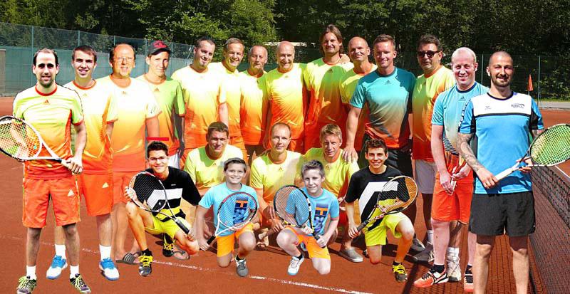 Unsere Tennisherren 1+2 haben den Klassenerhalt geschafft