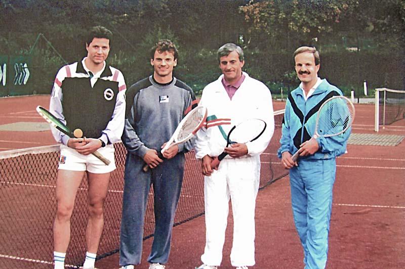 Tennis Archiv 1986 — 2009