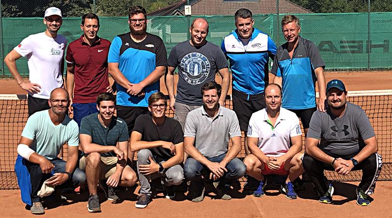 Unsere Tennisherren spielen beim Wintercup 2019/20